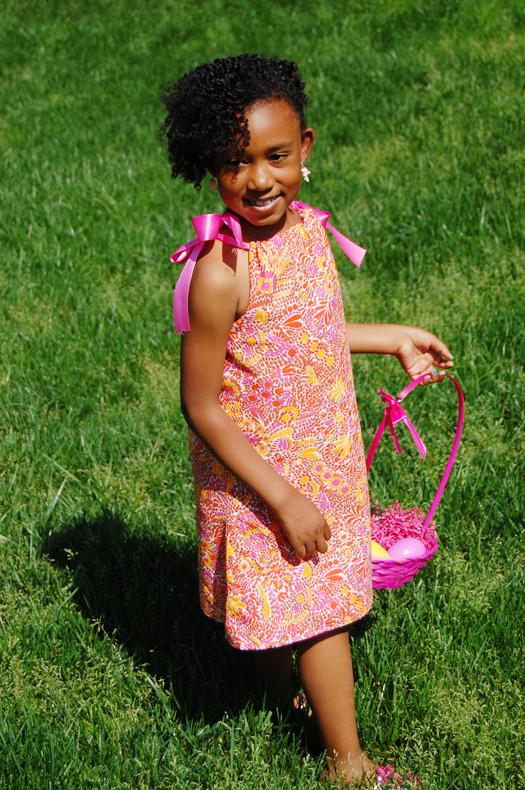 00e037f0bb5 DIY Reversible Easter Dress for Your Little Girl