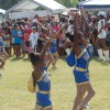 The Virgin Islands majorettes performing at the V.I. picnic. I was a majorette as a little girl, and I'm trying to convince my daughter to join.