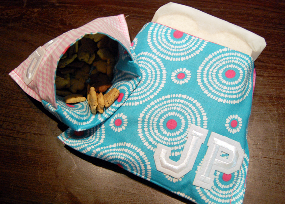 Tutorial Personalized Reusable Snack Bags