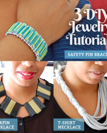 3 DIY Jewelry Tutorials Using Unexpected Materials Thumbnail