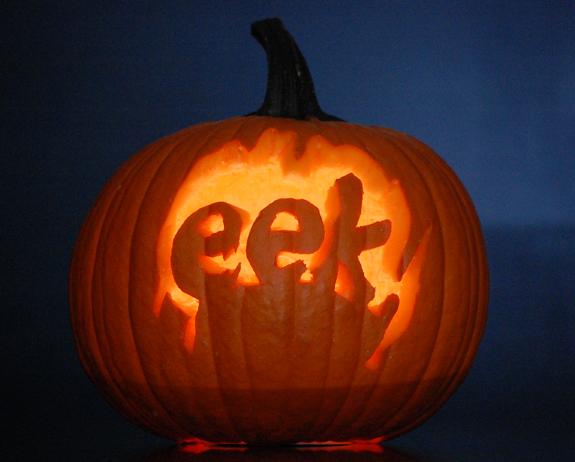 Eek! pumpkin carving for the beginner
