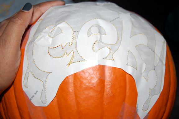 Eek pumpkin carving for the beginner
