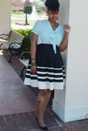 Outfit: eShakti + Mint Thumbnail
