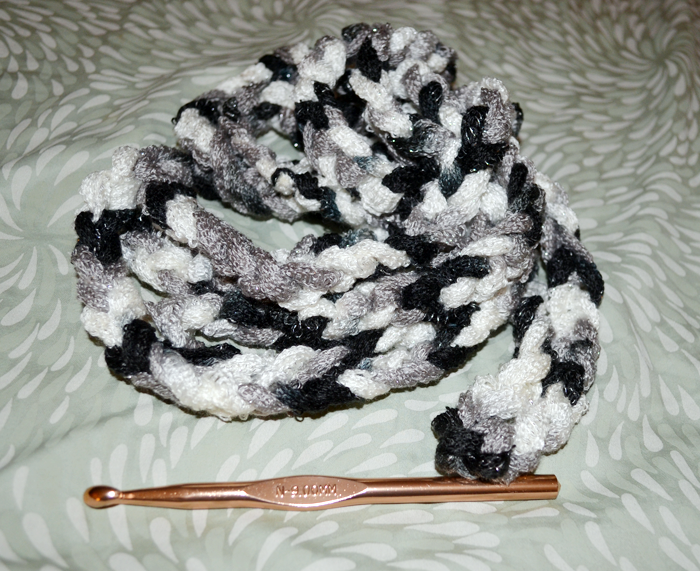 Make A 20 Minute Rope Scarf With Sashay Yarn