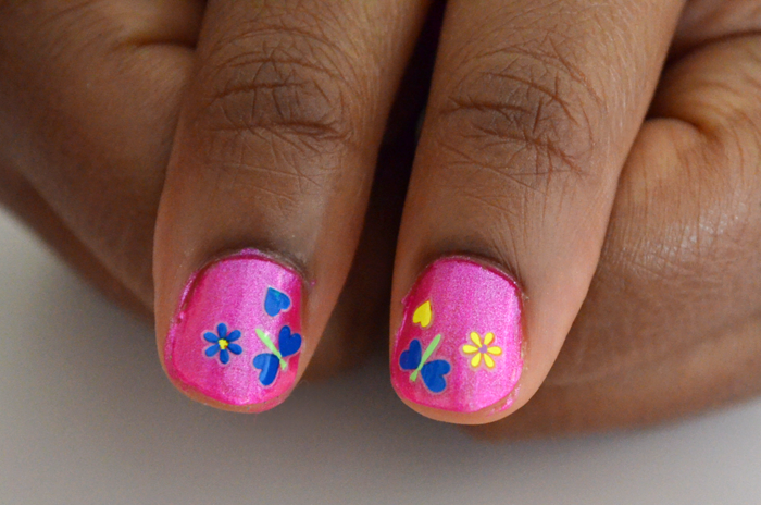 Non toxic summer nails for your mini diva nailart4 prinsesfo Choice Image