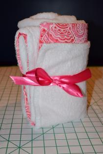 Easy, Warm DIY: Monogrammed Baby Blanket Thumbnail