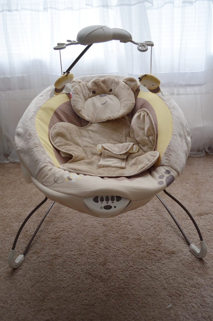 Vibration In Foot >> Gearing Up for Baby, Pt. 2: High Chair & Bouncer