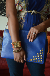 Easy DIY Studded Clutch with Darby Smart Thumbnail