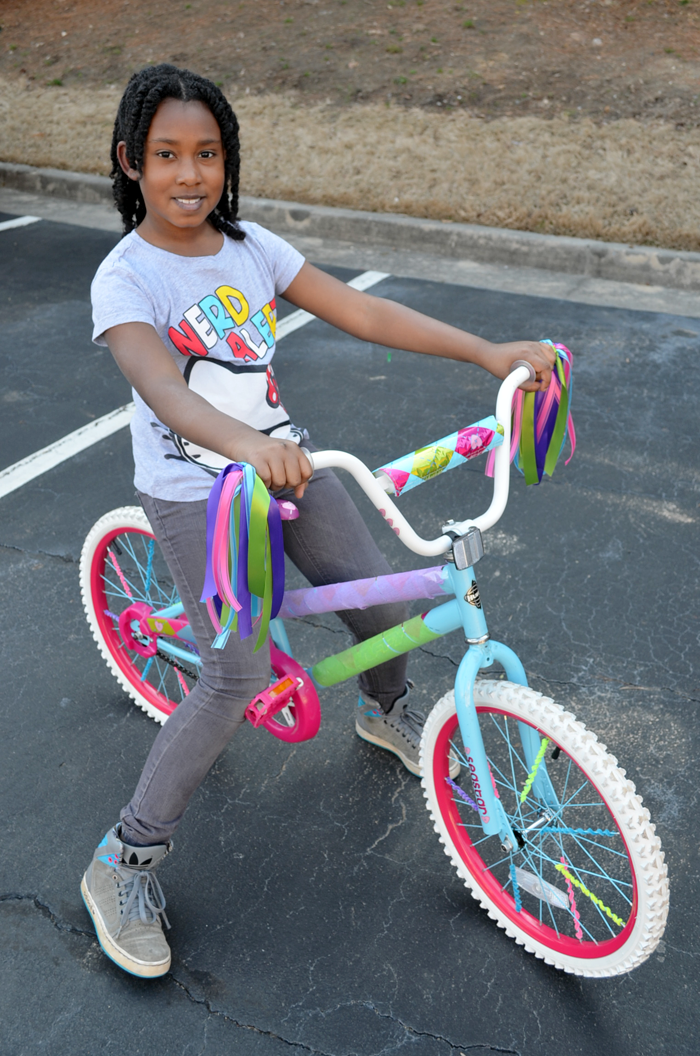 Spring Break DIY Idea: Decorate Your Kid's Bike!