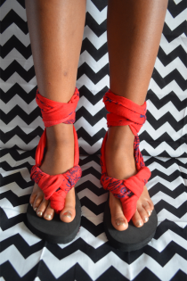 DIY Tie-Up Sandals for Young Fashionistas Thumbnail