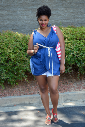 4th of July Outfit: DIY Scarf Top (+Tutorial) Thumbnail