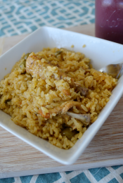 Recipe: Puerto Rican Arroz con Pollo Thumbnail
