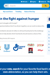 Fight Hunger, Spark Change with a vote Thumbnail