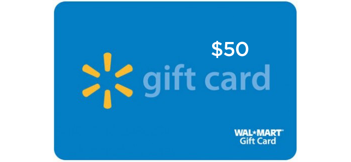 How Do I Find My Win One Walmart >> Win A 50 Walmart Gift Card
