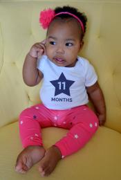 Baby Juliza: Month 11 Thumbnail