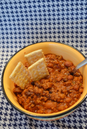 Lent Recipe: Vegetarian Crockpot Chili Thumbnail