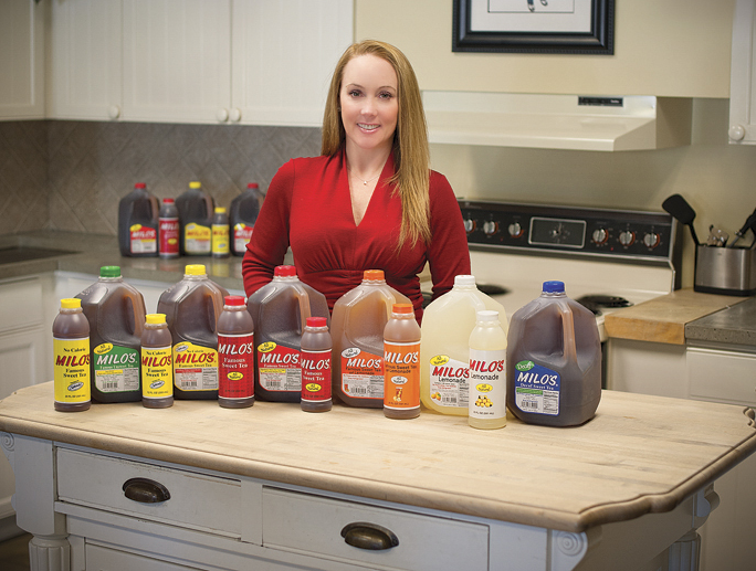 Patricia Wallwork, CEO of Milo's Tea Company