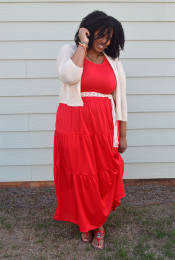 Outfit: It's Maxi Dress Season! Thumbnail