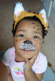 DIY Face Painting for Halloween: Baby Cheetah Thumbnail