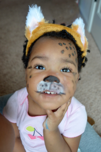 DIY Face Painting for Halloween: Baby Cheetah Thumbnail