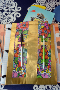 Back to School: DIY Duck Tape Binder Pouch Thumbnail